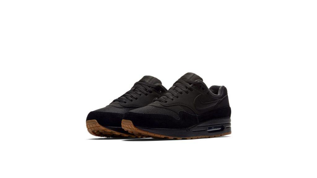 Nike Air Max 1 Black / Gum (AH8145-007)