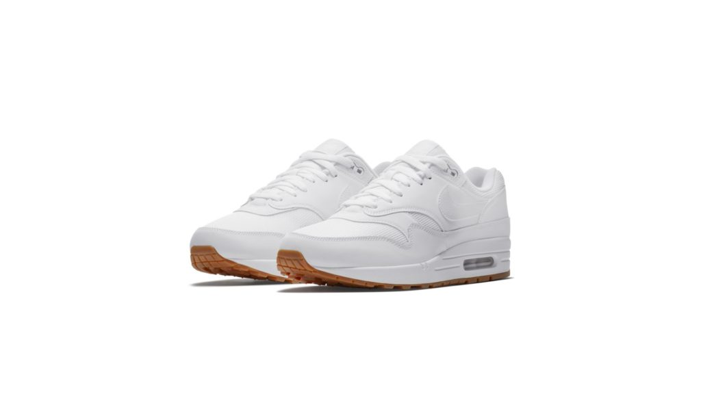 Nike Air Max 1 White White Gum Med Brown (AH8145-109)