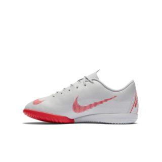 Nike Jr. MercurialX Vapor XII Academy Zaalvoetbalschoen voor kleuters/kids - Grijs Grijs