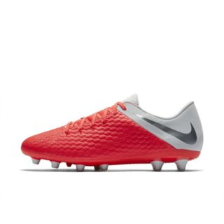 Nike Hypervenom III Academy AG-PRO Voetbalschoen (kunstgras) - Rood Rood