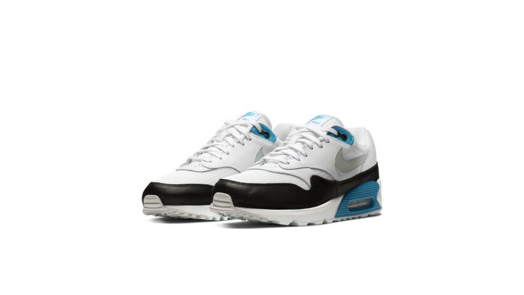 Nike Air Max 90/1 Laser Blue / White / Neutral Grey / Black (AJ7695-104)