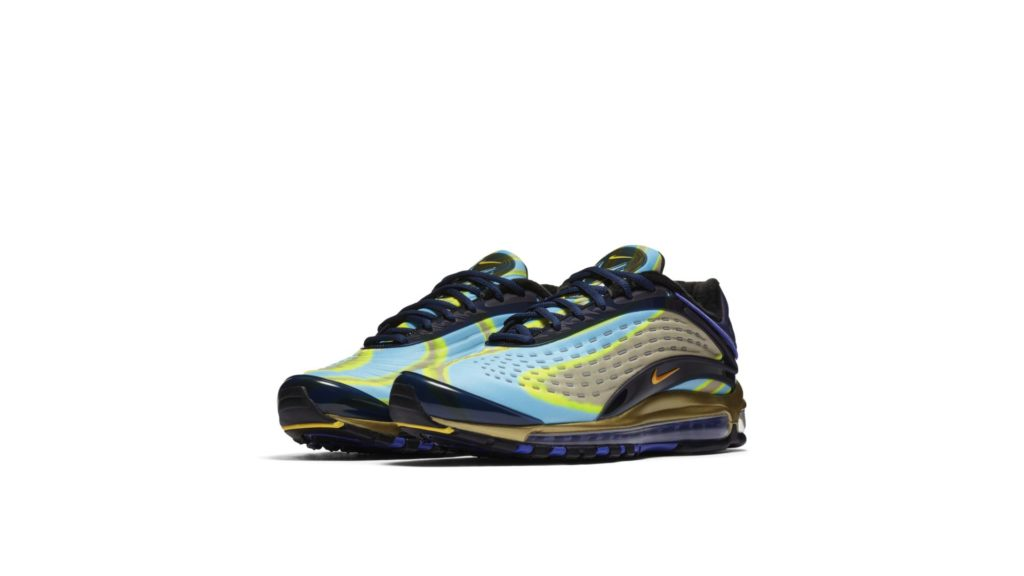 Nike Air Max Deluxe Midnight Navy Laser Orange (AJ7831-400)
