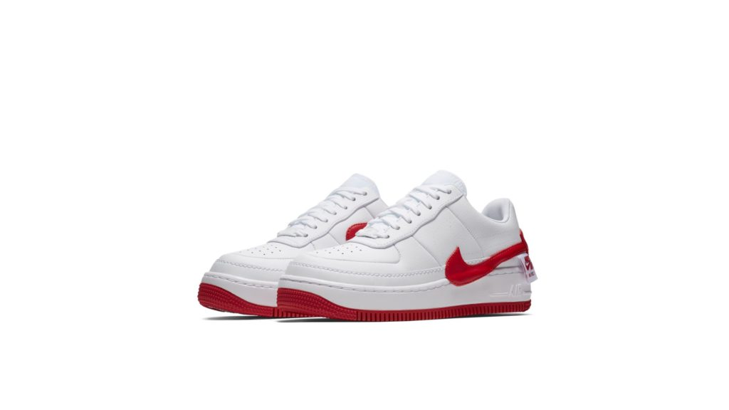 Nike Airforce 1 Jester XX White University Red (AO1220-106)