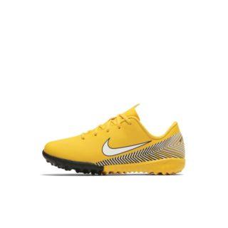 Nike Jr. Mercurial Vapor XII Academy Neymar Jr Voetbalschoen voor kleuters (turf/kunstgras) - Geel Geel