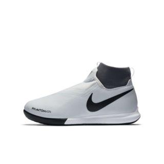 Nike Jr. Phantom Vision Academy Dynamic Fit Zaalvoetbalschoen voor kleuters/kids - Zilver Zilver