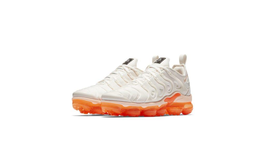 Nike Air Vapormax Plus Wit / Oranje (AO4550-005)