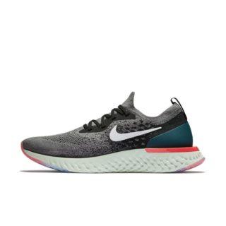 Nike Epic React Flyknit Hardloopschoen voor heren - Grijs Grijs