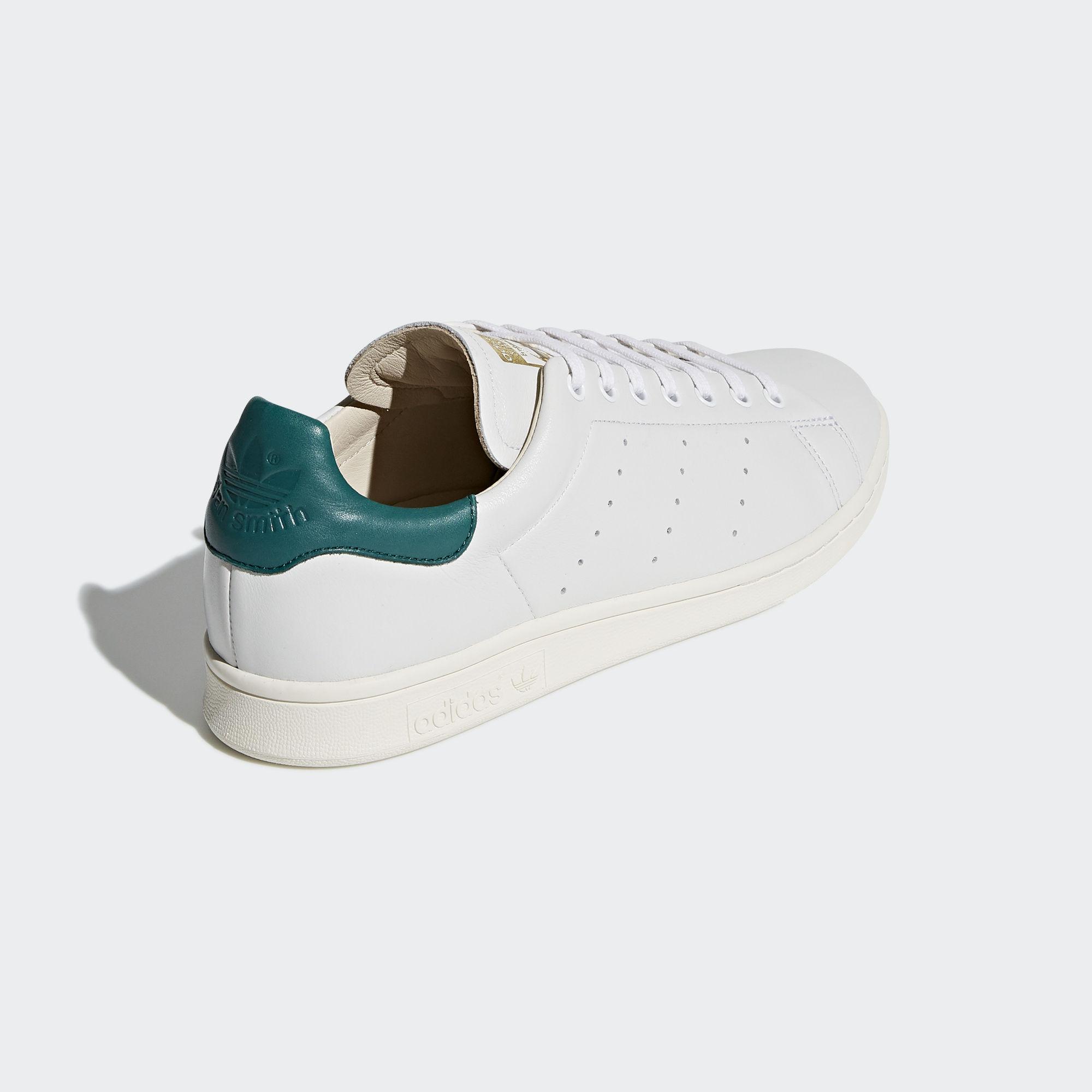 Adidas Stan Smith Ftwr White Ftwr White Noble Green (AQ0868)