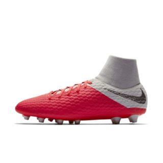 Nike Hypervenom III Academy Dynamic Fit AG-PRO Voetbalschoen (kunstgras) - Rood Rood