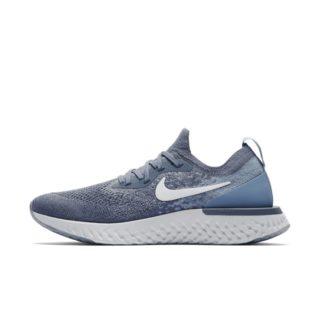 Nike Epic React Flyknit Hardloopschoen voor dames - Blauw Blauw