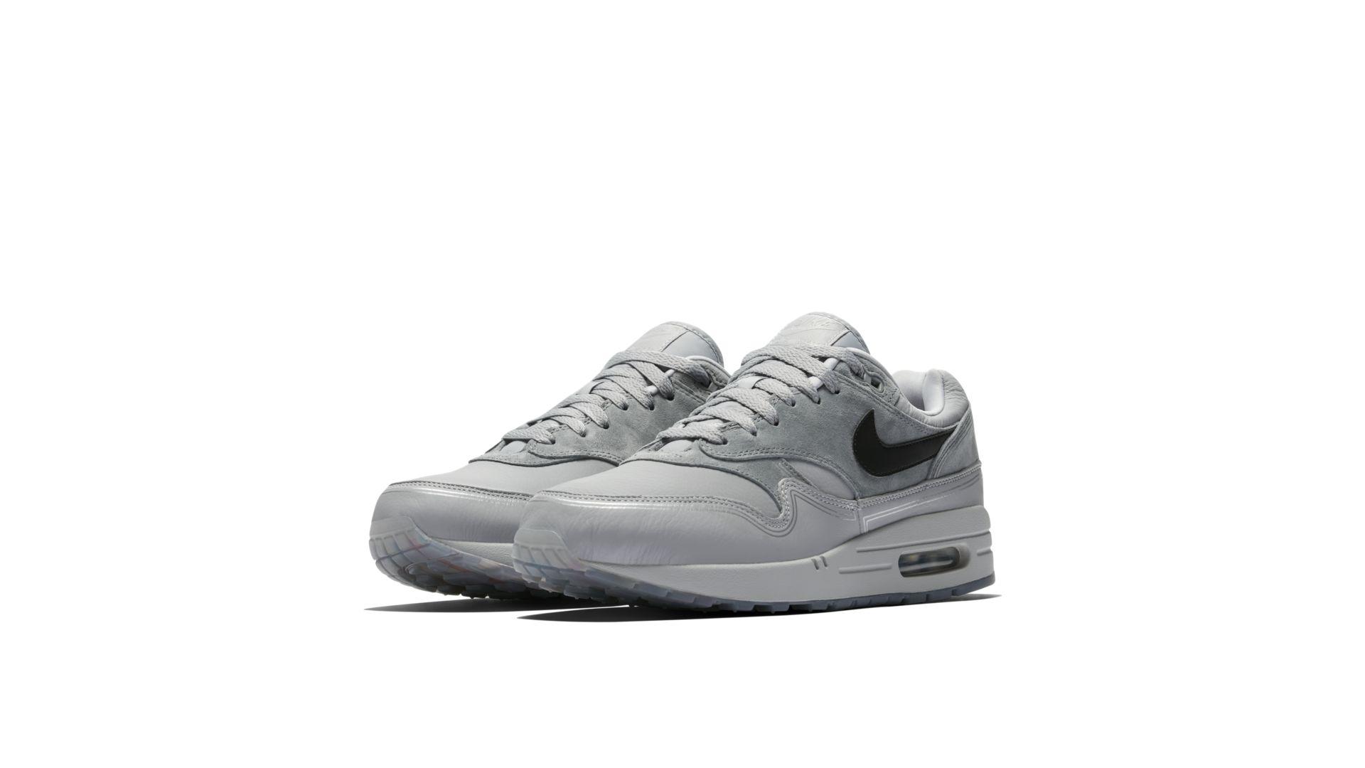 "Nike Air Max 1 ""Centre Pompidou"" Wolf Grey/Black/Cool Grey (AV3735-001)"