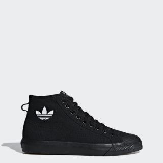 adidas Nizza High Top BBB83 (Core Black / Core Black / Ftwr White)