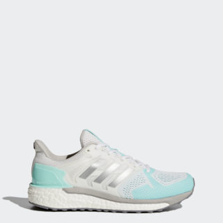 adidas Supernova ST BEK69 (Footwear White/Silver Metallic/Energy Aqua)