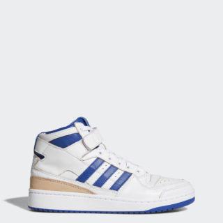 adidas Forum Mid CDM75 (Footwear White/Collegiate Royal/Footwear White)