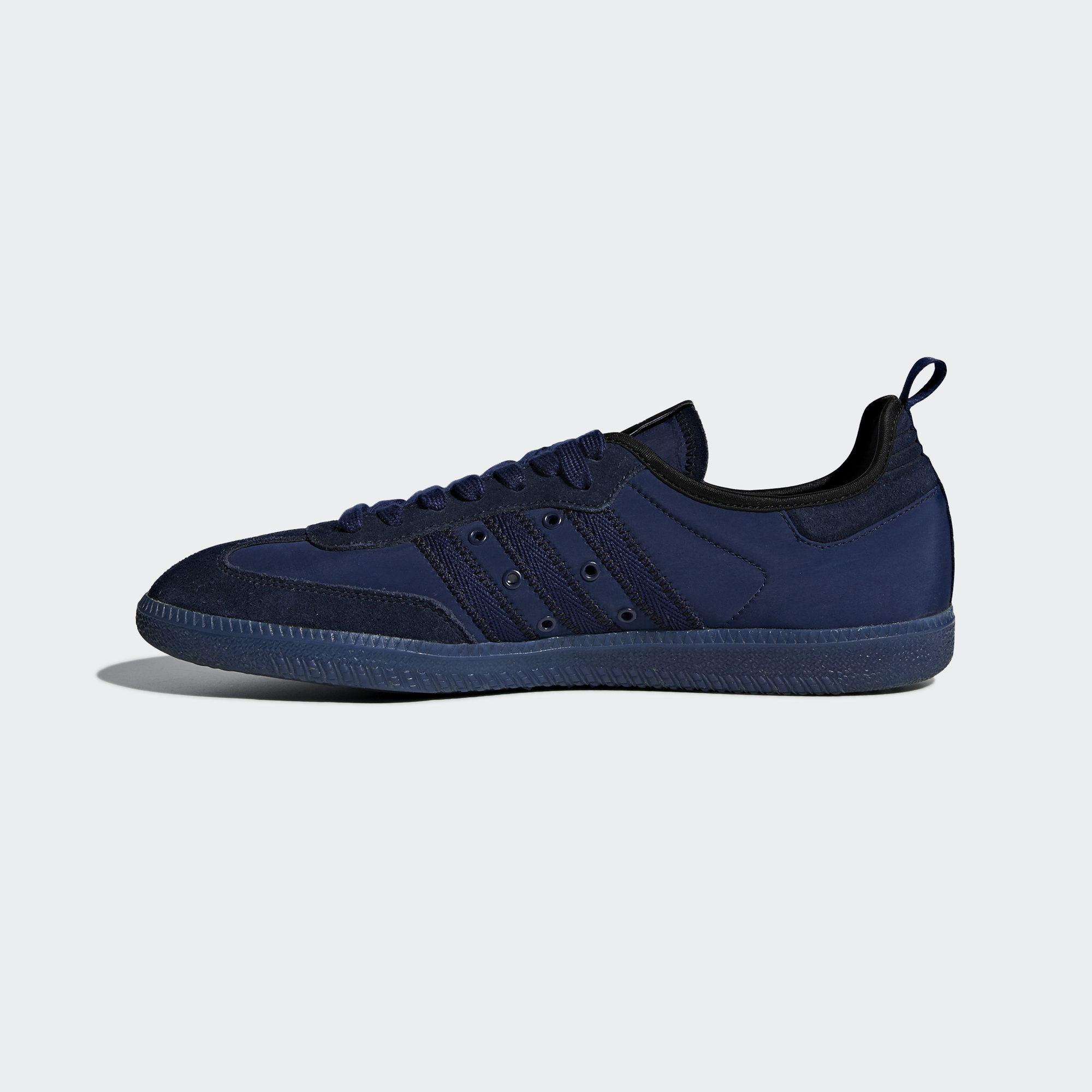 Adidas Samba x C.P. Company Dark Blue Night Sky Dark Purple (CG5957)