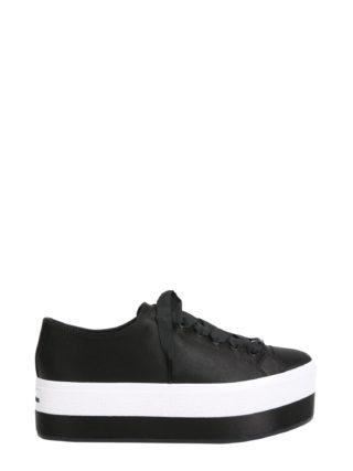 MICHAEL Michael Kors Satin Ronnie Sneakers (zwart)