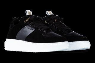 Mason Garments Roma Classic – Suede / Leather – Black (FW18)