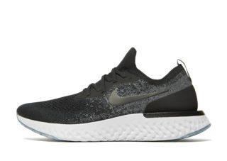 Nike Epic React Flyknit Dames (Zwart)