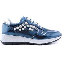 Nero Giardini P805253 sneaker studs blauw