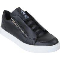 Hite Couture Lage heren sneakers rits burer zwart