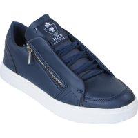 Hite Couture Lage heren sneakers rits burer blauw