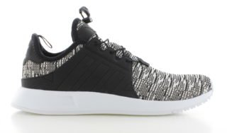 adidas X_PLR Black White Knit Dames