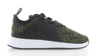 adidas X_PLR Black Green Knit Baby