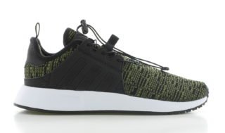 adidas X_PLR Black Green Knit Kinderen