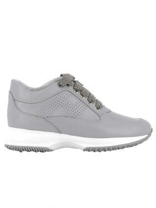 Hogan Hogan Grey Leather Sneakers (grijs)