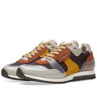 Acne Studios Jimmy Label Sneaker (Brown)