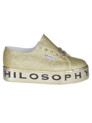 Philosophy di Lorenzo Serafini Philosophy Di Lorenzo Serafini Glittery Coated Sneakers (Overige kleuren)