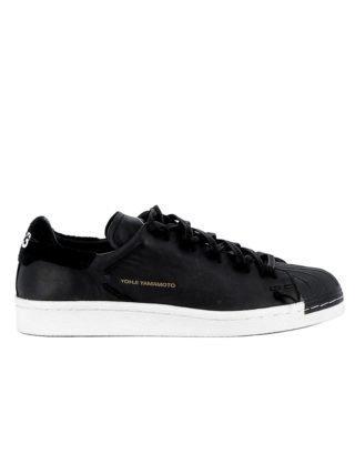 Y-3 Y-3 Black Leather Sneakers (zwart)