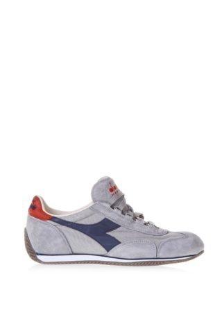 Diadora Heritage Diadora Heritage Equipe Stone Grey Sneakers In Suede (grijs)