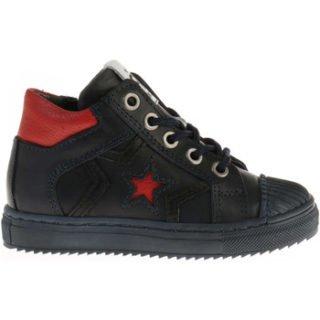 Pinocchio P1581 Sneakers Blauw/Rood