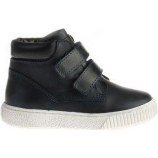 Pinocchio P1551 Hoge Sneakers Klittenband Blauw