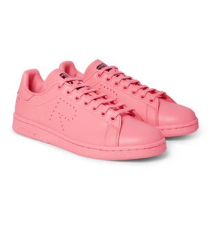Raf Simons + Adidas Originals Stan Smith Leather Sneakers – Pink
