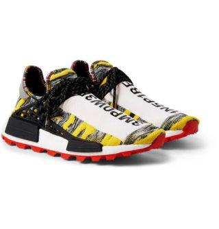 adidas Consortium + Pharrell Williams Solarhu Nmd Primeknit Sneakers – Yellow