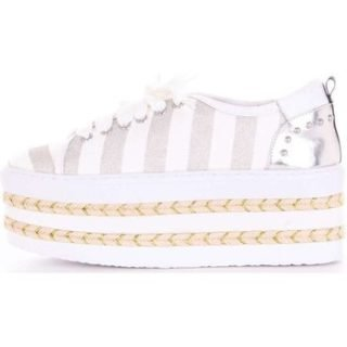 Colors of California SUN019 Sneakers Women White and silver