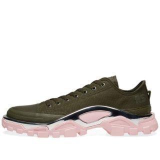 hot sale online dff35 dd7a4 Adidas x Raf Simons Detroit Runner (Green) · Sneaker