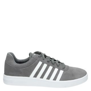 K-Swiss Court Cheswick lage sneakers grijs