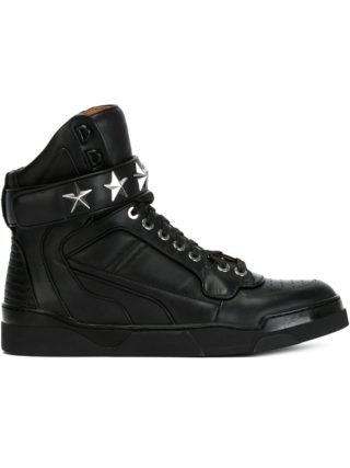 Givenchy 'Tyson' hi-top sneakers (zwart)
