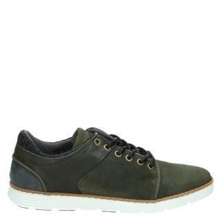Nelson lage sneakers groen