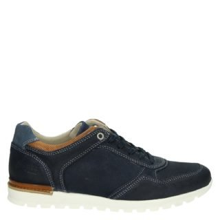 Nelson lage sneakers blauw
