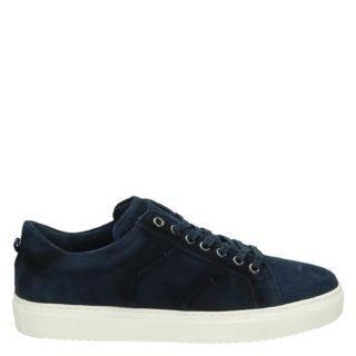 Greve lage sneakers blauw