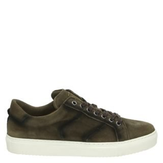 Greve lage sneakers taupe