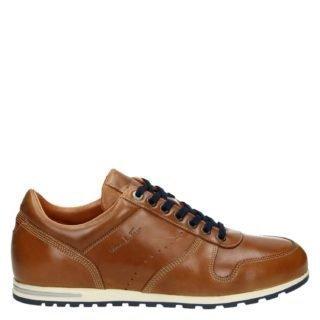 Van Lier lage sneakers cognac