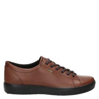 Ecco Soft 7 lage sneakers bruin