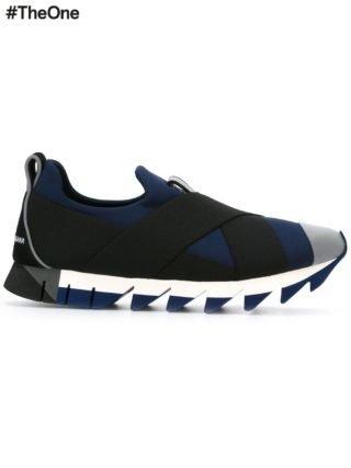 Dolce & Gabbana 'Ibiza' slip-on sneakers (zwart)