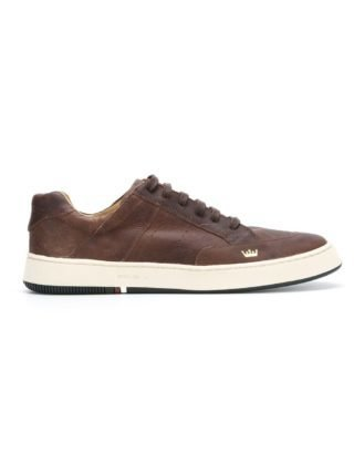 Osklen leather sneakers (bruin)