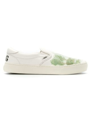 À La Garçonne tree print slip-on sneakers (wit)